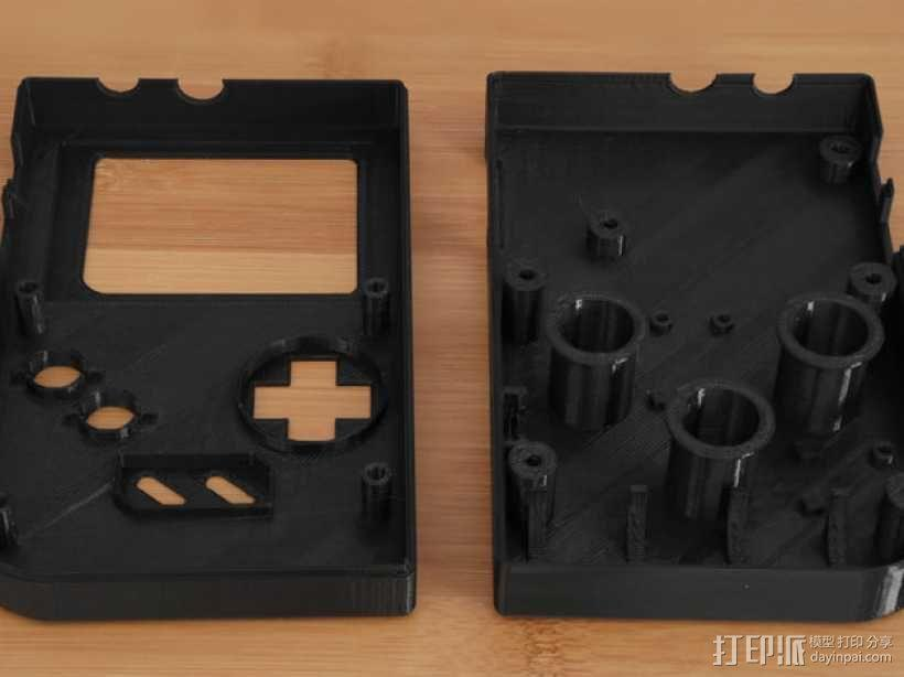 DIY树莓派游戏机 3D模型  图6