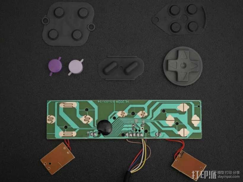 DIY树莓派游戏机 3D模型  图9