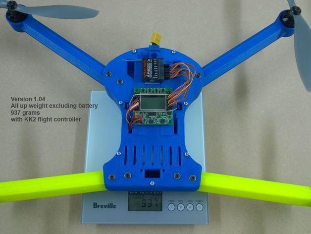 T4 四轴飞行器 3D模型  图3