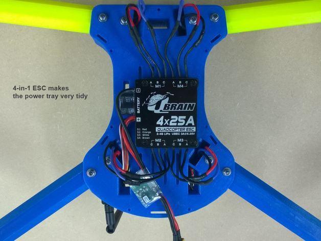 T4 四轴飞行器 3D模型  图5