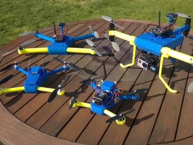 T4 四轴飞行器 3D模型  图2