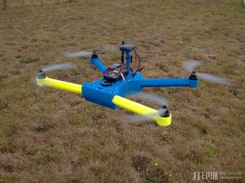 T4 四轴飞行器 3D模型  图1