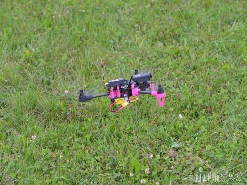 Brocopter Y3:可折叠迷你三轴飞行器 3D模型  图15