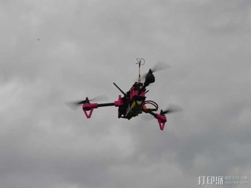 Brocopter Y3:可折叠迷你三轴飞行器 3D模型  图14