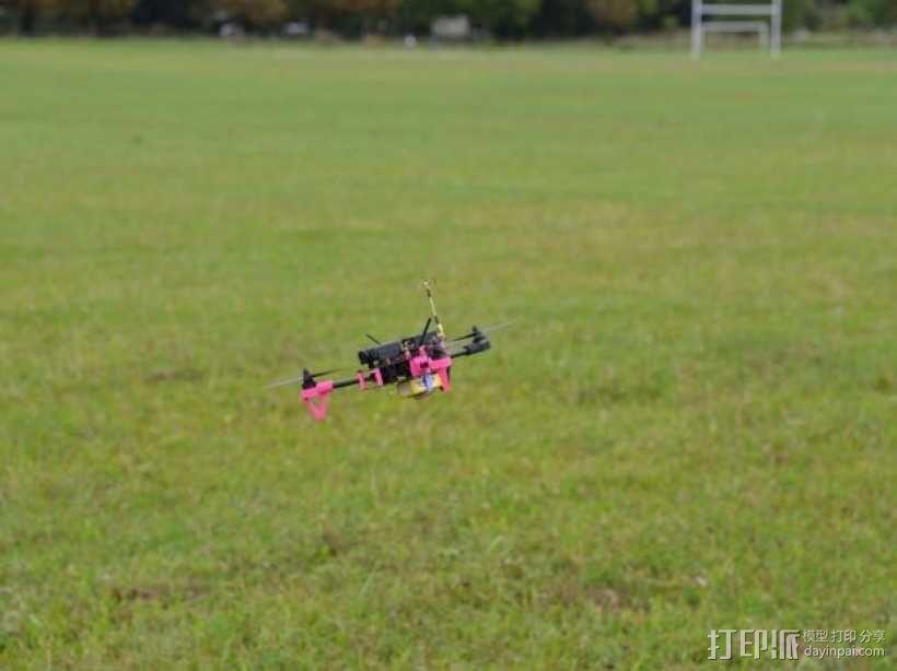Brocopter Y3:可折叠迷你三轴飞行器 3D模型  图18
