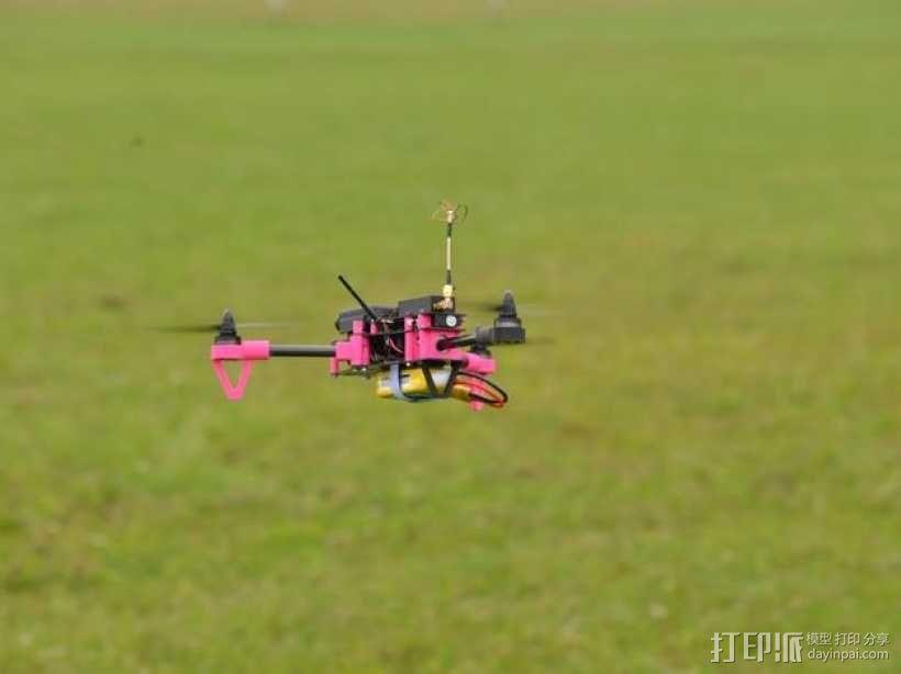 Brocopter Y3:可折叠迷你三轴飞行器 3D模型  图17