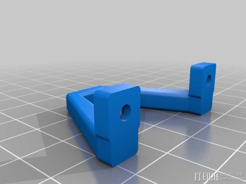 Brocopter Y3:可折叠迷你三轴飞行器 3D模型  图26
