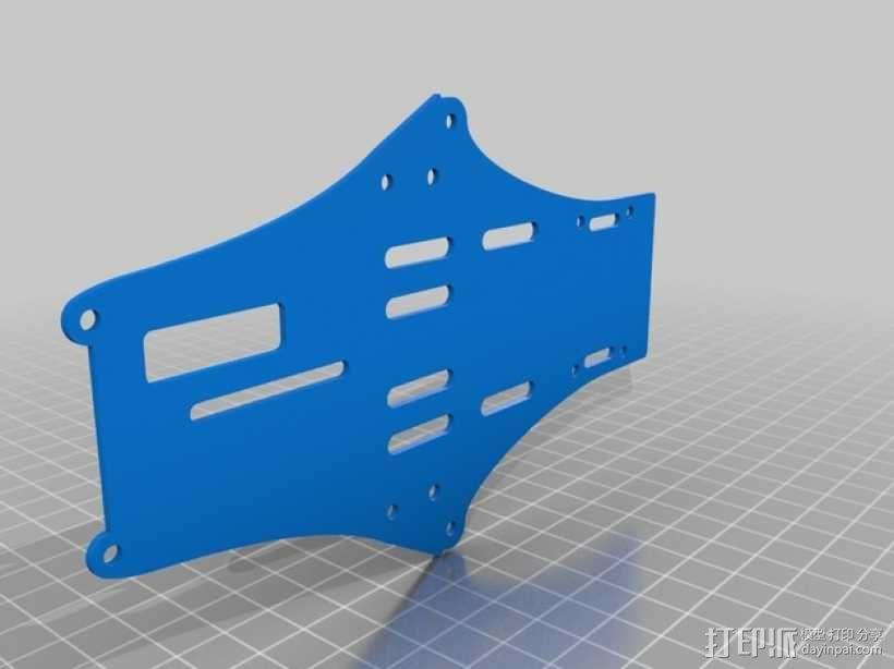 Brocopter Y3:可折叠迷你三轴飞行器 3D模型  图41