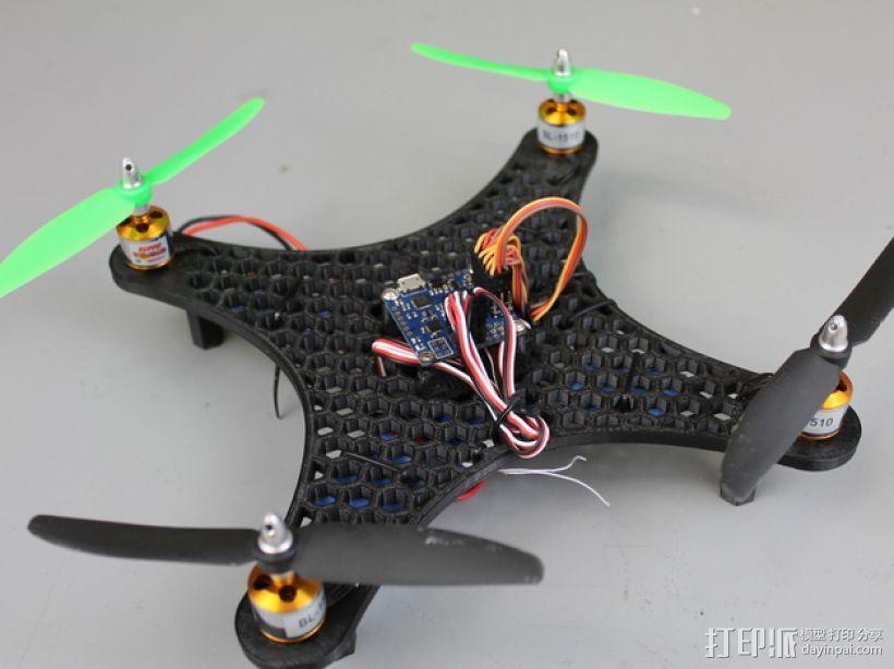 DIY迷你四轴飞行器蜂巢版 3D模型  图1