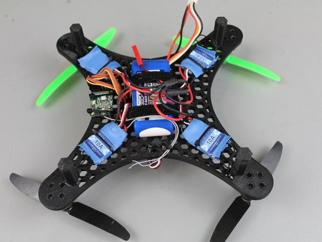 DIY迷你四轴飞行器蜂巢版 3D模型  图3