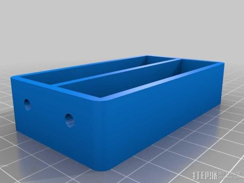 18650持有器 3D模型  图7