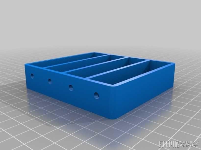 18650持有器 3D模型  图8