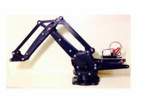 机械臂架 3D模型