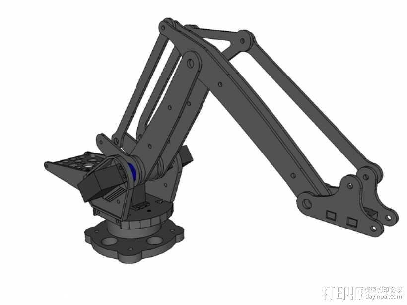 机械臂架 3D模型  图5