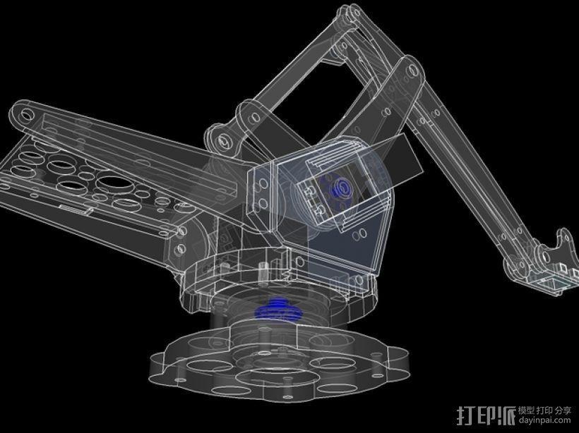 机械臂架 3D模型  图8