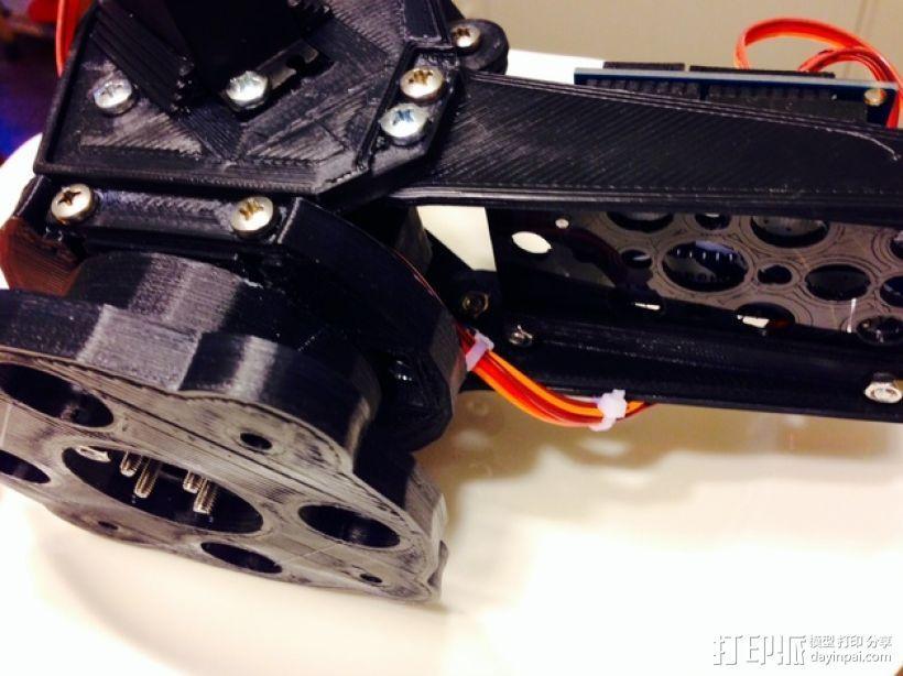 机械臂架 3D模型  图12