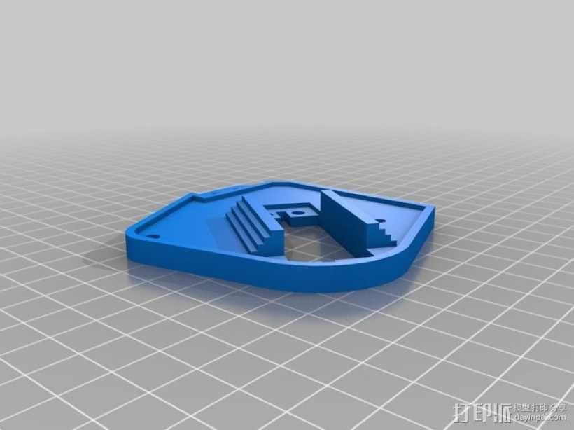 机械臂架 3D模型  图37
