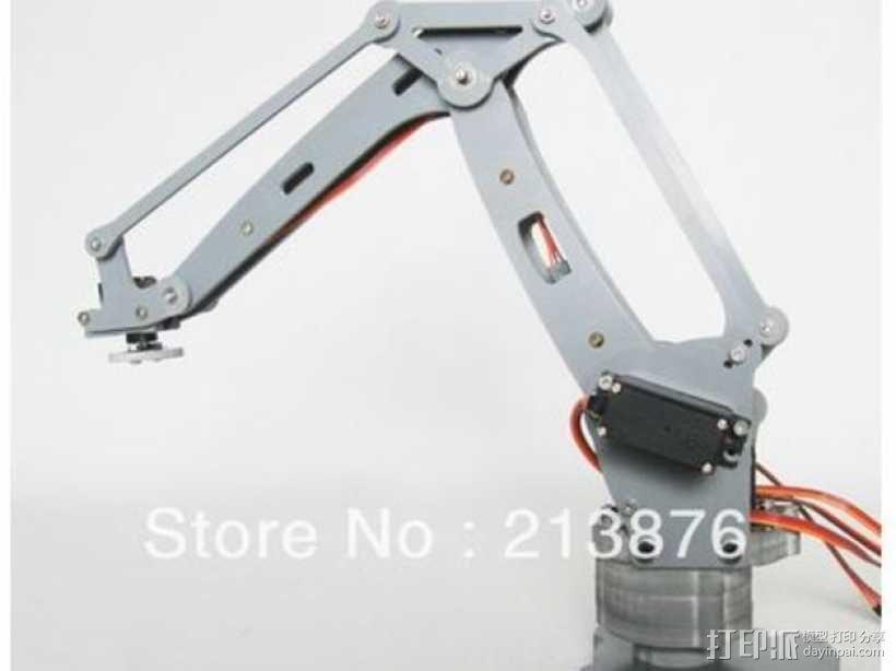 机械臂架 3D模型  图46