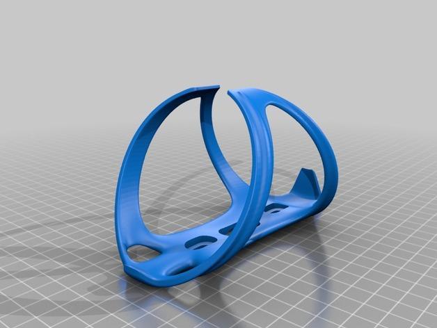卷装多彩瓶套 3D模型  图2