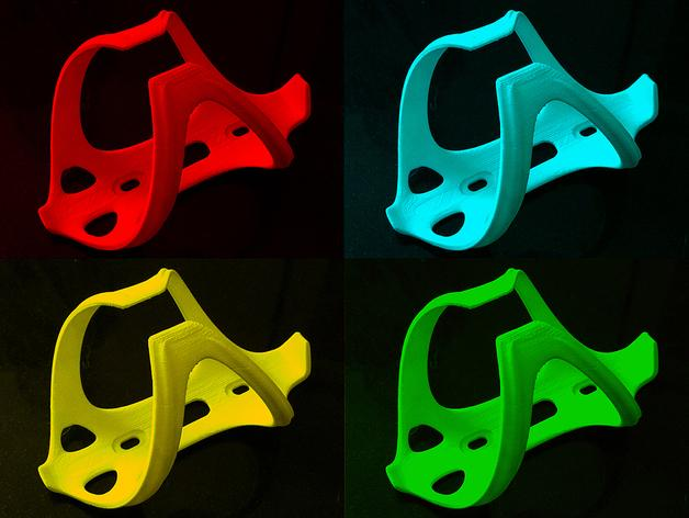 卷装多彩瓶套 3D模型  图5