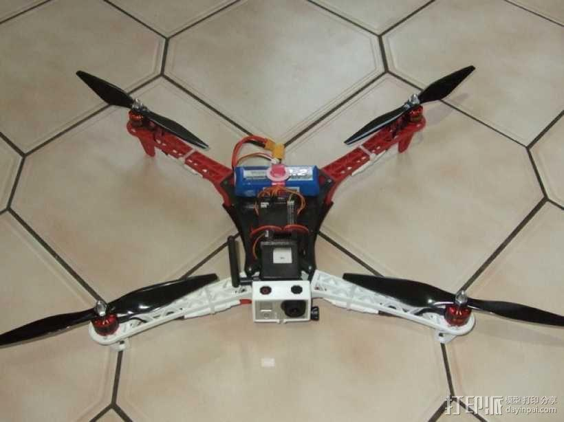 Spyda 500四轴飞行器 3D模型  图6