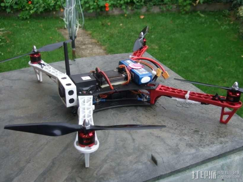 Spyda 500四轴飞行器 3D模型  图5