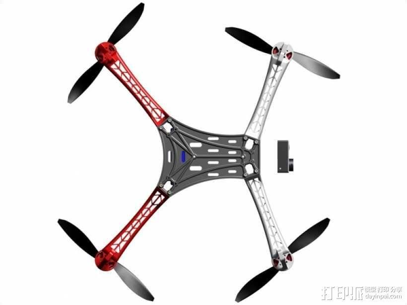 Spyda 500四轴飞行器 3D模型  图21