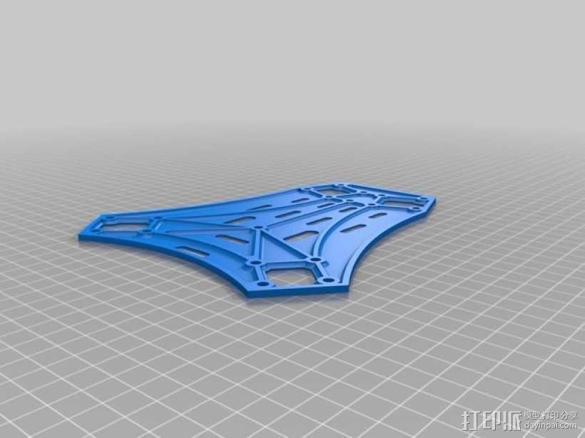 Spyda 500四轴飞行器 3D模型  图23