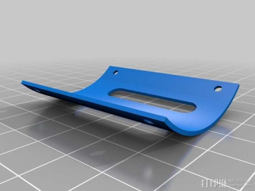 """""""红色的天鹅""""——最大的全打印滑翔机 3D模型  图8"""