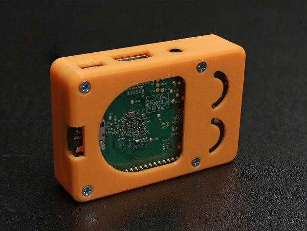 Raspberry Pi B+ 脸型外壳 3D模型  图6