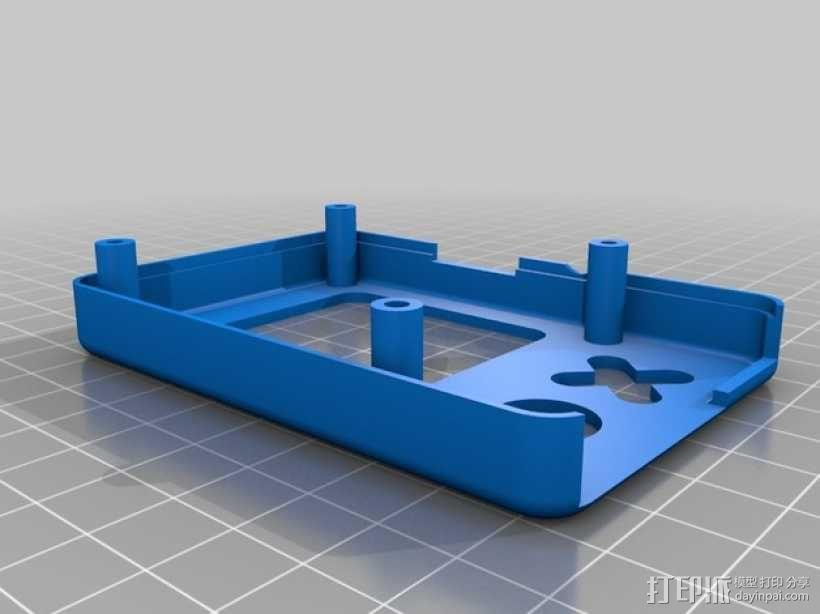Raspberry Pi B+ 脸型外壳 3D模型  图8