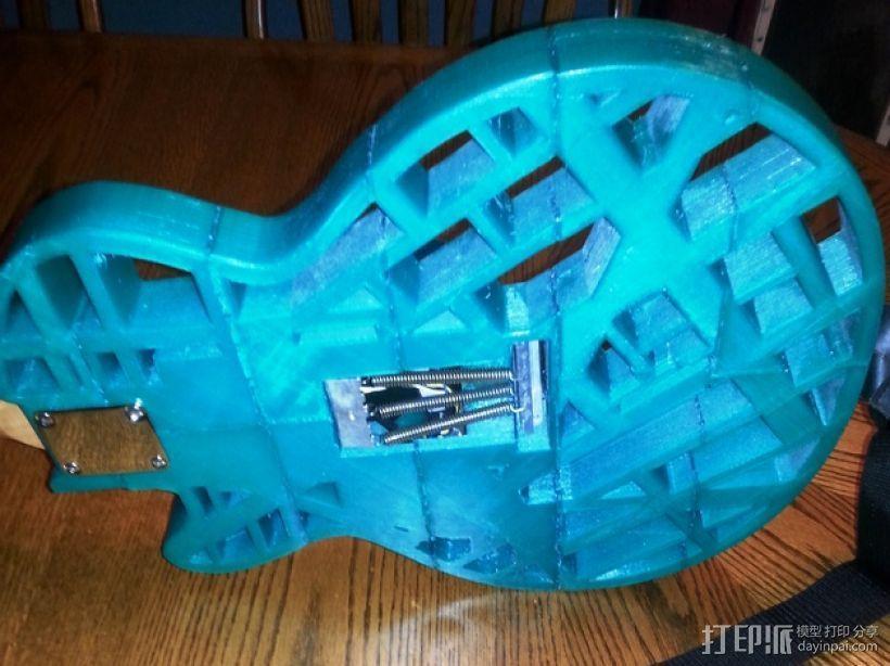 两种风格混合吉他 3D模型  图4