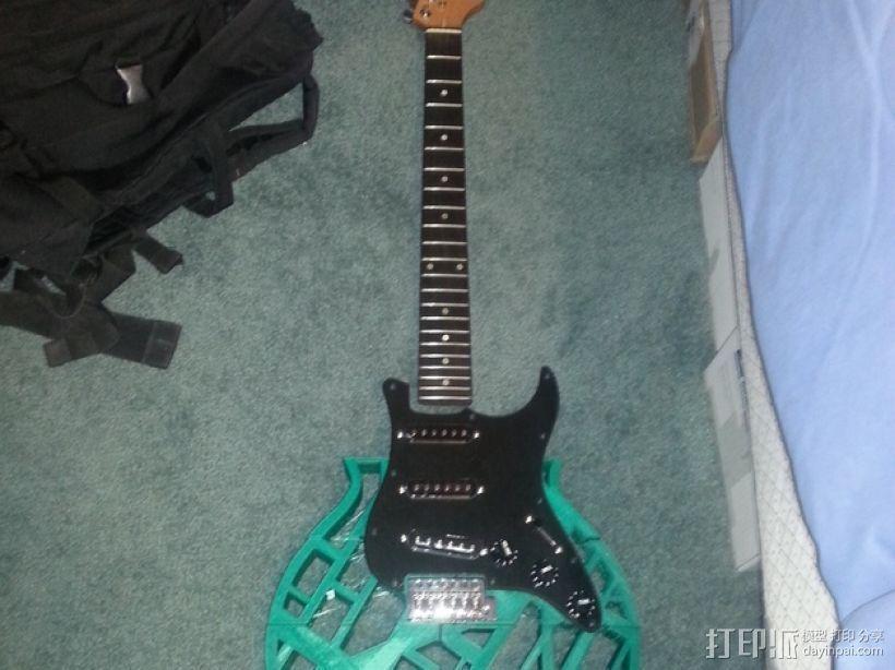 两种风格混合吉他 3D模型  图7