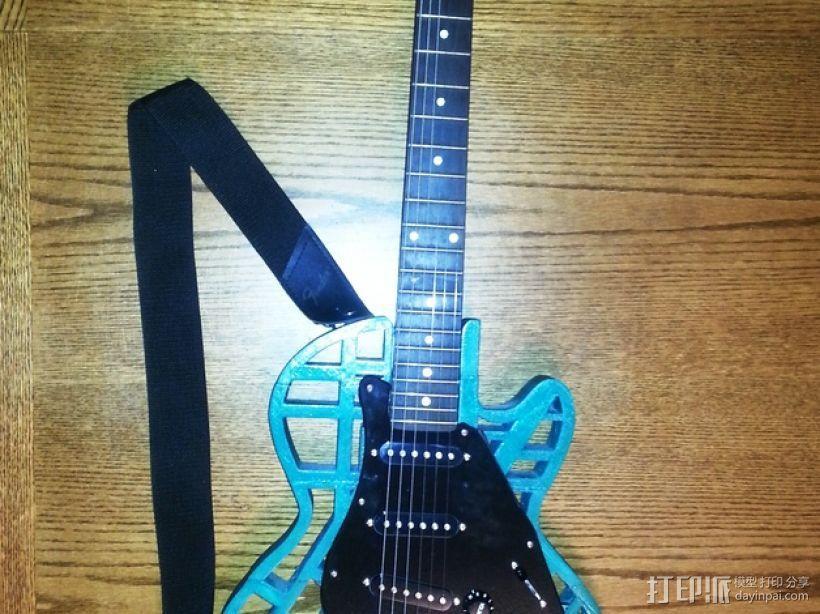 两种风格混合吉他 3D模型  图12