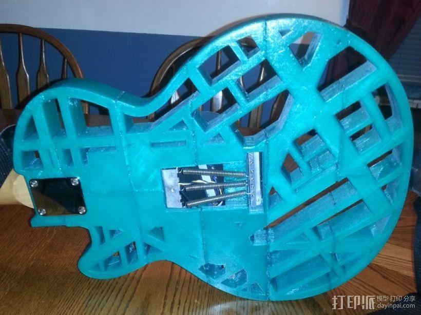 两种风格混合吉他 3D模型  图13