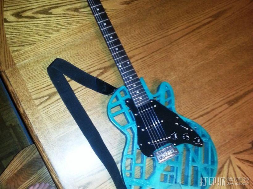 两种风格混合吉他 3D模型  图17
