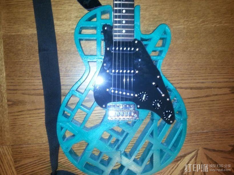 两种风格混合吉他 3D模型  图15