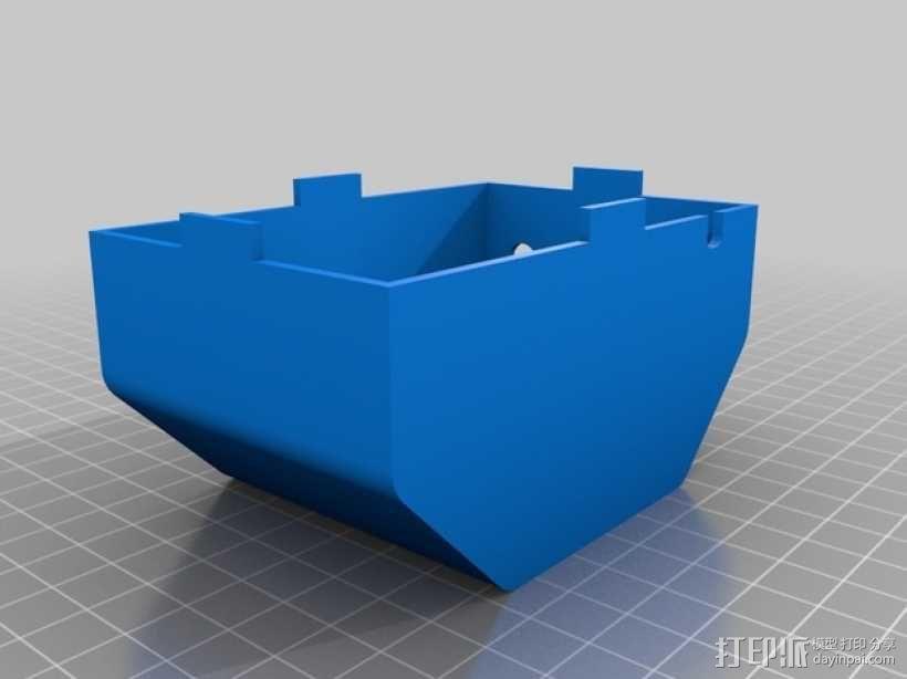 打印你自己的3D扫描仪组件 3D模型  图4