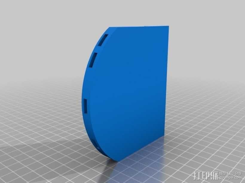 打印你自己的3D扫描仪组件 3D模型  图5