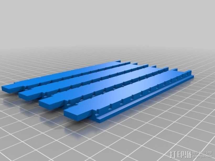 打印你自己的3D扫描仪组件 3D模型  图7