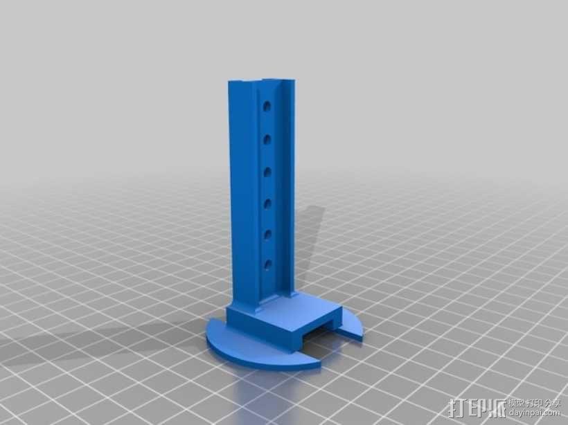 打印你自己的3D扫描仪组件 3D模型  图11