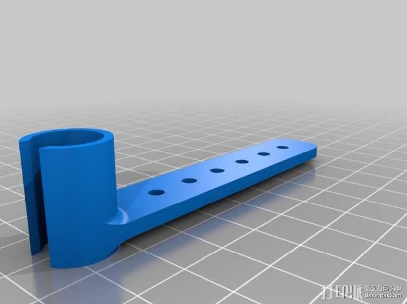 打印你自己的3D扫描仪组件 3D模型  图10