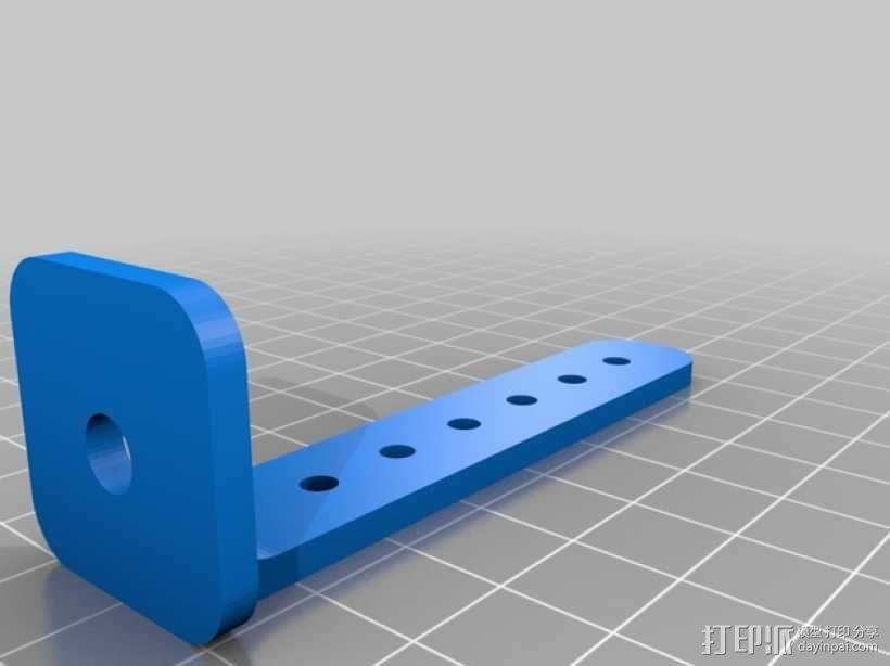 打印你自己的3D扫描仪组件 3D模型  图12