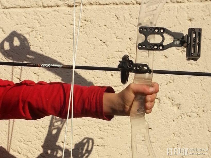 少年复合弓 3D模型  图3