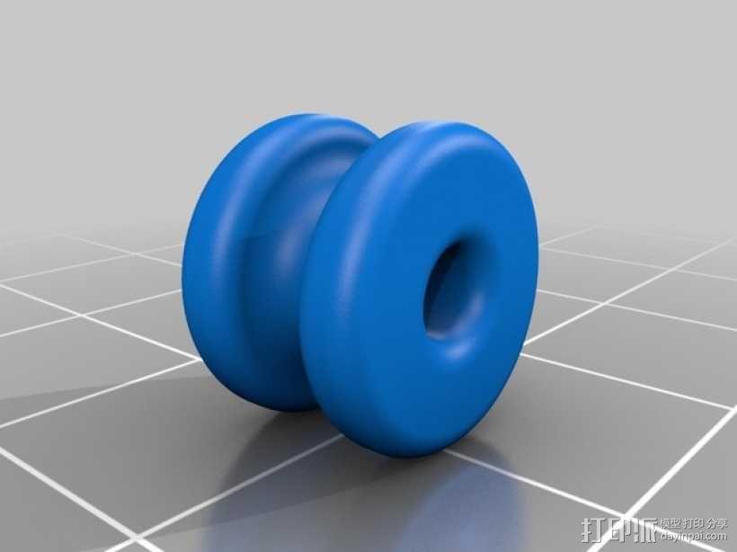 少年复合弓 3D模型  图8