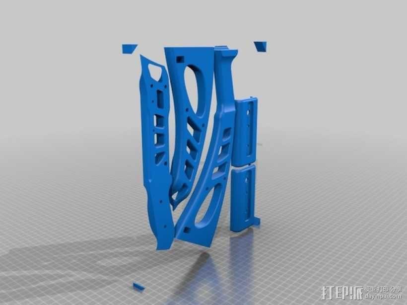 少年复合弓 3D模型  图9
