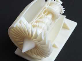 GE 喷气引擎舱 3D模型
