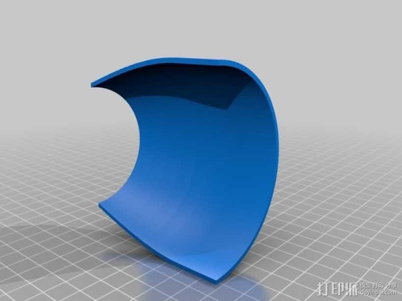GE 喷气引擎舱 3D模型  图3