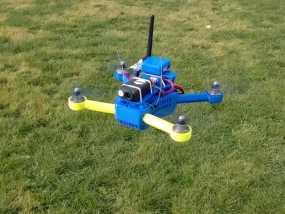 T4 四轴飞行器 Mini 250 (5英寸) 3D模型