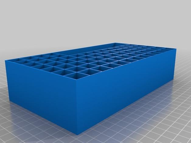 Javelin字时钟隔板 3D模型  图3